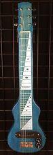 Joe Morrell Pro Series 6-String Lap Steel Guitar Transparent Blue