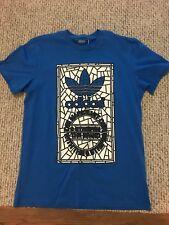 Adidas Die Marke Mit Den blue T-SHIRT (size men's M ) great shape
