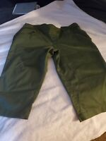 NWT Time and True Women's XL (16-18) Olive Green Stretch Capris