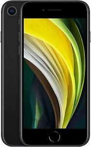 Apple iPhone SE 2020 Black, Nano SIM+eSIM, 128GB, Official Warranty