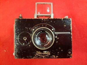 ICA BEBE Camera : Carl Zeiss Jena Tessar 75mm f 4.5Lens : Spares / Restoration