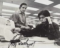 BOB WOODWARD SIGNED WATERGATE REPORTER 8X10 PHOTO