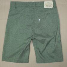 Levi's 511 Performance Hybrid Shorts Boy's Size 16 Regular Green Polyester Blend