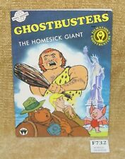 MINIWORLD - FILMATIONS GHOSTBUSTERS: THE HOMESICK GIANT PB BOOK 1986 HTF RARE