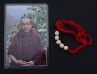 Bracelet sacré Protecteur Kruba Boonchum Béni Moine Thaï talisman Chance 1955
