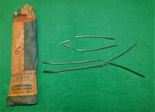 🔥 NOS 61 62 CHEVY IMPALA BELAIR BISCAYNE STATION WAGON 4 DR DOOR EDGE GUARDS