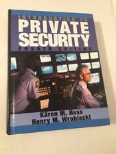 Introduction to Private Security by Kären M. Hess
