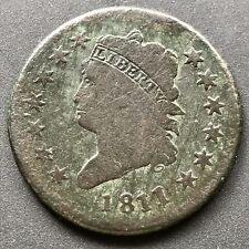 1811/0 1811 over 0 Large Cent Classic Head One Cent 1c Rare #6341