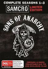 Sons of Anarchy: Season 1-3 (Boxset) (12 Disc) NEW R4 DVD