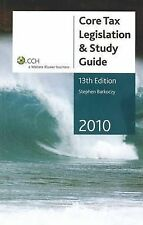 CCH Core Tax Legislation and Study Guide 2010 by Stephen Barkoczy (S/C, 2010)