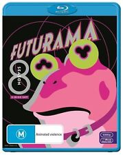 Futurama : Season 8 (Blu-ray, 2013, 2-Disc Set)