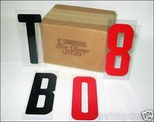 """6"""" Letters on 6 7/8"""" Changeable Flex Panel for Portable Marquee Signs"""