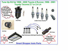 1996-2000 Toyota 4 Runner Tacoma Tune Up Kit Air Oil Fuel Filter Spark Plug Wire