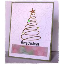Christmas Tree decor Metal Cutting Dies For Scrapbooking Card Craft Decor Nice