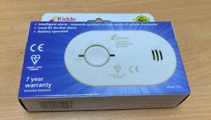 Kidde 5CO - 10 Year Life LED Carbon Monoxide Detector / CO Alarm with Batteries