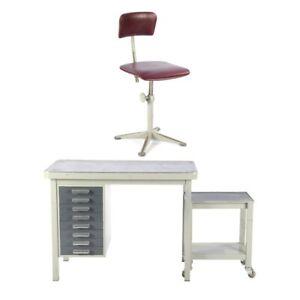 Schreibtisch Stuhl ,Ahrend Cirkel Design Friso Kramer,Industrie Design 60er/'684