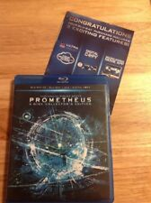 Prometheus 3D (Blu-ray/DVD,2012,4-Disc,Collectors Edition)Authentic US RELEASE