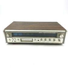 Vintage Mc-3010 Fisher Integrated Receiver System Am/Fm 8-Track Read Description