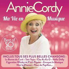 ANNIE CORDY - Ma vie en musique - best of 50 titres // CD neuf