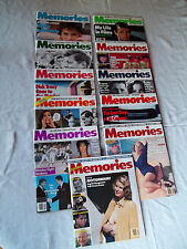 #1-11 Memories Magazine, Includes Inaugural Issue (MINT CONDITION)