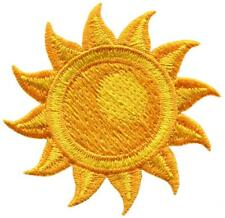 The Sun star astrology embroidered applique iron-on patch S-1511