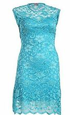 Jersey Floral Sleeveless Party Dresses for Women