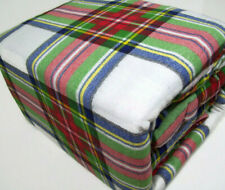 Home Collection Ashley Cooper Cotton Multi Colors Holiday Plaid Queen Sheet Set