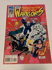 The New Warriors #4 1994 Marvel Comics