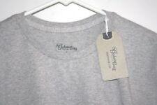 New St Johns Bay Shirt Mens size S Gray T-shirt Short Sleeve No Pocket -J-