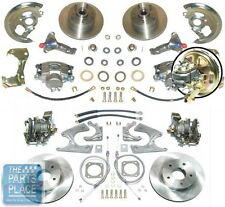 1968-74 Chevrolet Nova 4 Wheel Power Disc Brake Kit With Booster @