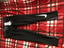 New With Tags Nike Pro Warm Tight Fit Boys Cargons Size M
