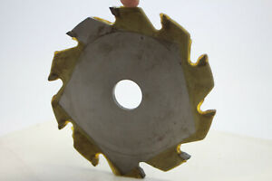 """Carbide Tipped Saw Blade 5-1/2"""" Dia 10 Tooth 1"""" Bore .250 Width New"""