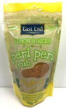 Lemon & Herb Peri Peri Rub/Seasoning 100g - East End