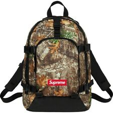 Brand New Supreme FW19 Tree Camo Backpack