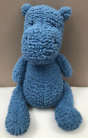 Jellycat Quangle Wangle Hippo Comforter Baby Soft Toy Blue Soother