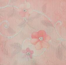 Japanese vintage kimono silk fabric Pretty Blossom