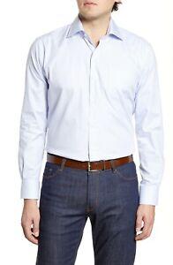 BNWT Peter Millar Hibriten Microcheck Button-Up Shirt Size Small MSRP $148!!!