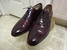 SALVATORE FERRAGAMO SHOES MADE IN ITALY MEN 11.5 D GOOD CONDITION NOT MUCH USED