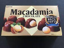 New LOTTE Madadamia Chocolates Whole Chocolate 9 Pieces MADE IN JAPAN