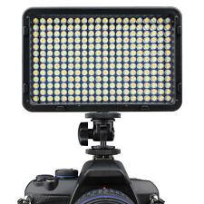 260 LED Bi-colore continuamente variabile dimmable Video luce per DSLR