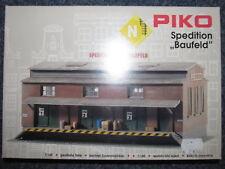 PIKO 60015 - Spur N - Spedition - Lagerhalle - Güterschuppen - Louis Baufeld