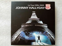 "Johnny Hallyday : ""La tour Eiffel 2009"" (RARE 2 CD)"