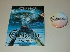 E3 2011 RARE Official PS3 XBOX 360 EL SHADDAI Pin & Magnet
