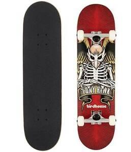 "Birdhouse Skateboard Complete Tony Hawk ICON 8"" RED"