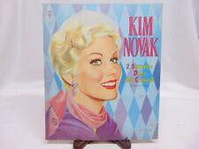 Vintage Original 1958 Uncut Kim Novak Paper Doll s & Clothes - Saalfield