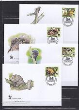 Togolaise 2010 - FDC - Dieren / Animals / Tiere  (WWF / WNF)