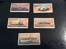 5 1950s era weight machine collectors cards