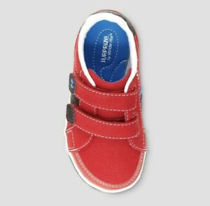 Surprize by Stride Rite Toddler Boys Tanner Sneakers Red Size 4 New w/Tags