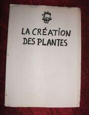 JEAN EIFFEL  1 album La Création des plantes 1954