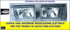 Fari anteriori per Fiat Panda Van luci anterior faro fanale destro sinistr DX SX